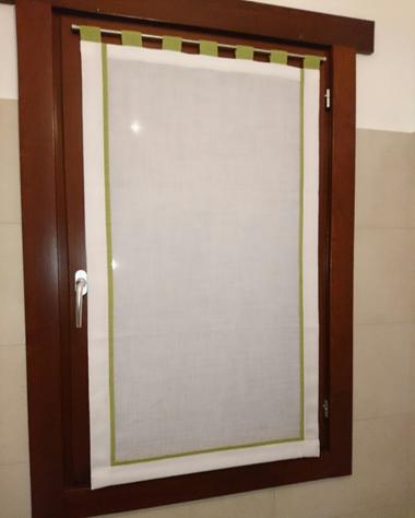 Tende a vetro e tendine per la cucina mapi tende magenta for Tende a vetro per cucina classica