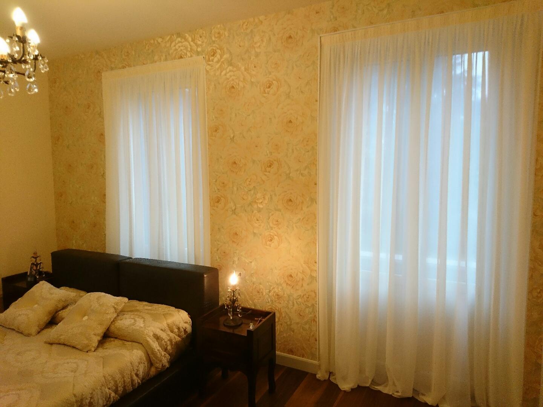 Tende Per Salotto Classico tende arricciate per salotto, camera e sala - mapi tende magenta
